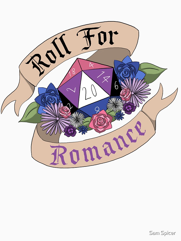 Roll For Romance - Genderfluid Pride by flailingmuse