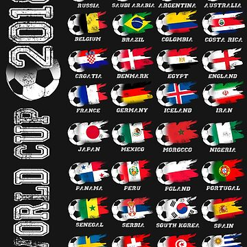 Word cup Soccer 2018 World Football Cup All Teams 32 by masliankaStepan