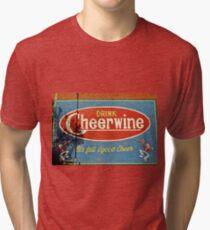 Cheerwine Zeichen 2 Vintage T-Shirt