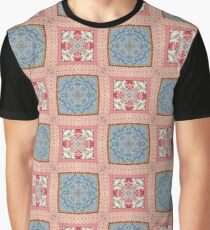 Trippy Quilted Graphic T-Shirt