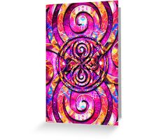 Fractals in Space - (Card) Greeting Card