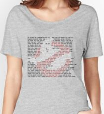 Ghostbusters Quote Logo Women's Relaxed Fit T-Shirt