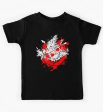 Ghostbusters Logo Paint Splatter Kids Tee