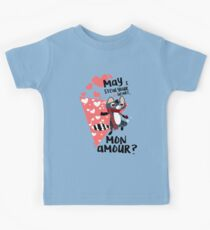 Steal your heart Mon Amour Kids Tee