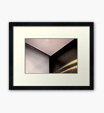 Corner #8 Framed Print