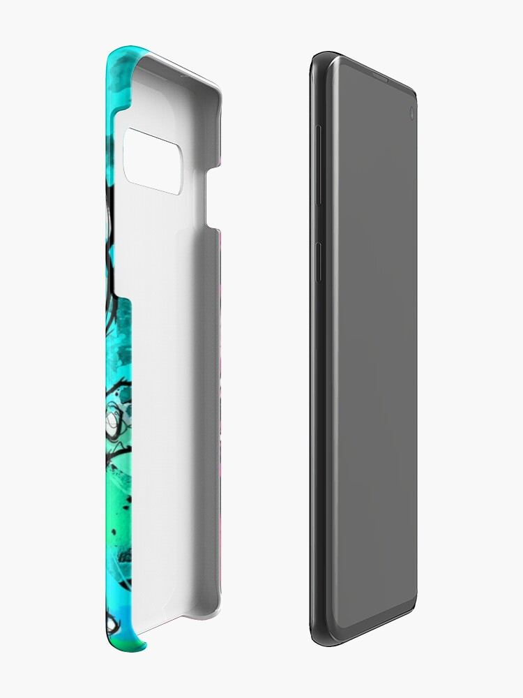 Vista alternativa de Funda y vinilo para Samsung Galaxy Cuteless Rainbow Stitch - OHANA