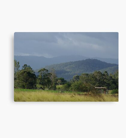 Aussie country Canvas Print