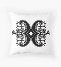 Indonesian Crown  Throw Pillow