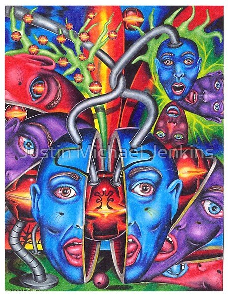 The Esoteric Force of Molecular Mentality by Justin Michael Jenkins