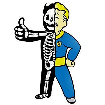 Dead Vaultboy Fallout Fanart Pibboy by MienWayne