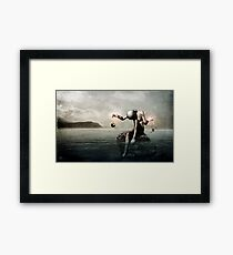 Open Memory: One For Two Framed Print