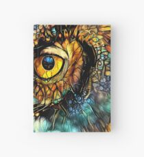 Mosaic Owl Hardcover Journal