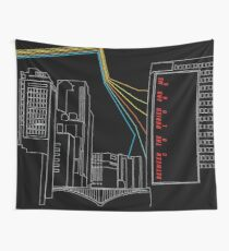 Between the Buriend and Me Colors Wall Tapestry