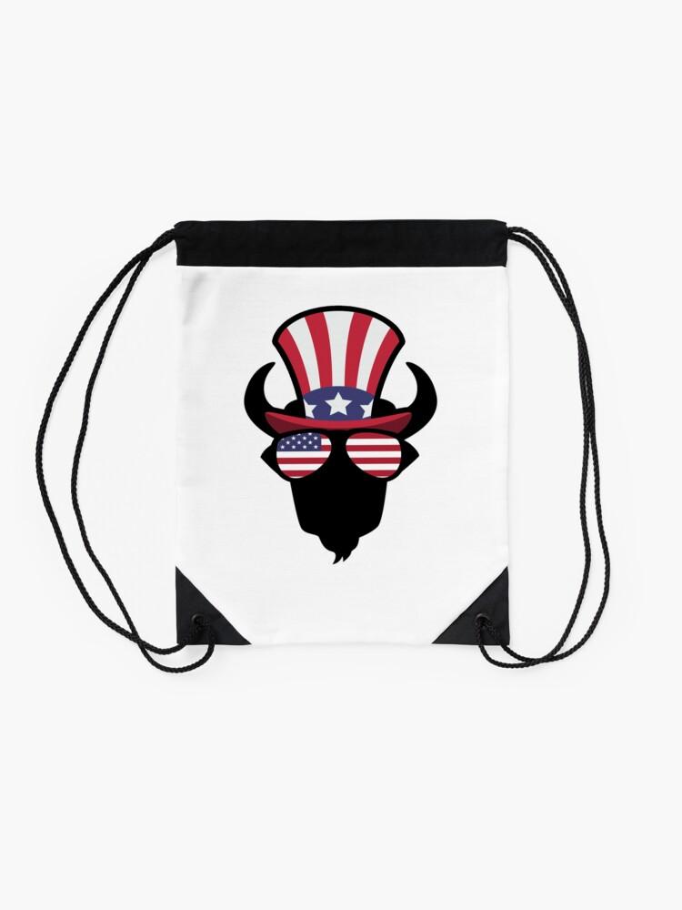 Vista alternativa de Mochila saco Buffalo Happy 4th Of July