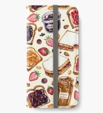 Peanut Butter and Jelly Watercolor iPhone Wallet/Case/Skin