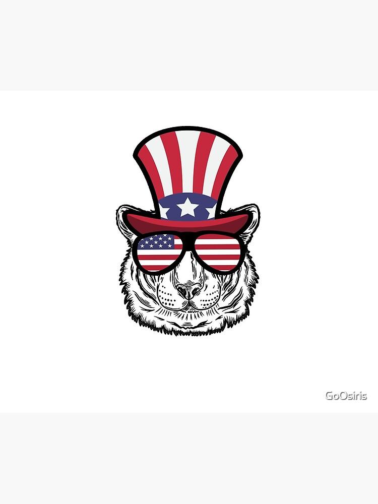 Tiger Happy 4th Of July de GoOsiris