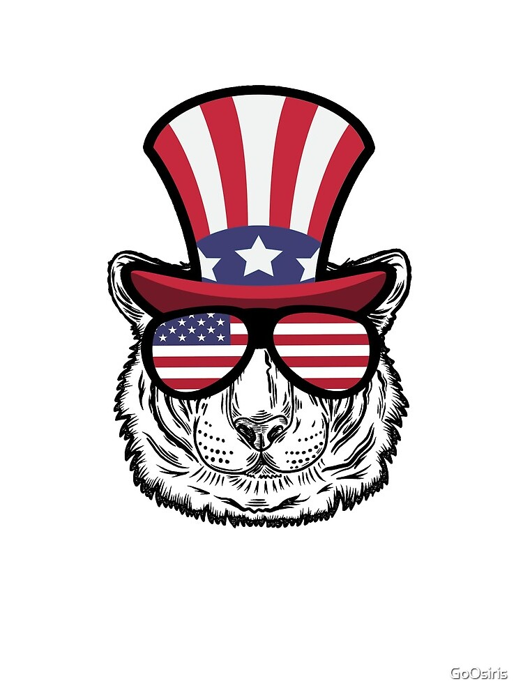 Tiger Happy 4th Of July de GoOsiris