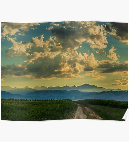From Cornfields To The Continental Divide Poster