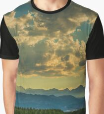 From Cornfields To The Continental Divide Graphic T-Shirt