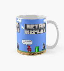Retro Wiederholung Tasse