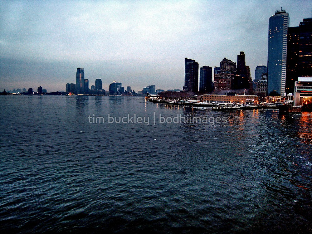 manhattan new day. nyc by tim buckley | bodhiimages