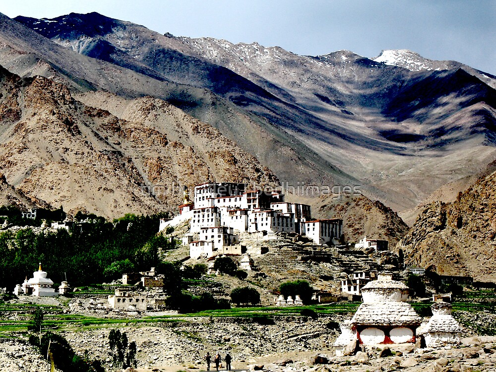 mountain temples. ladakh, india by tim buckley | bodhiimages
