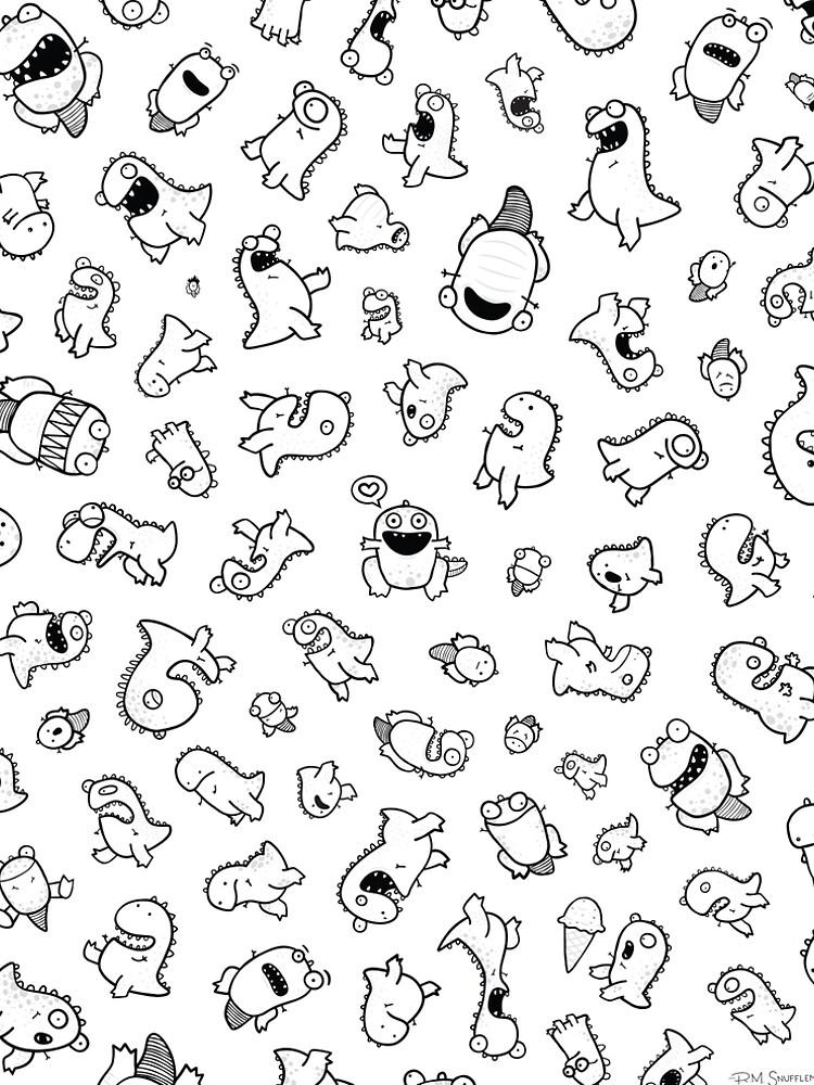 Dino-mite! (Original) by snufflemuffin