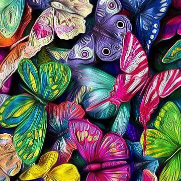 WILD BUTTERFLIES  by johnnyssandart