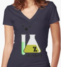 *chemical* Women's Fitted V-Neck T-Shirt