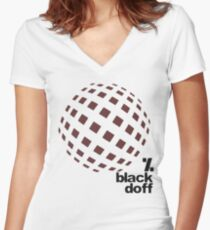 get d dance Women's Fitted V-Neck T-Shirt