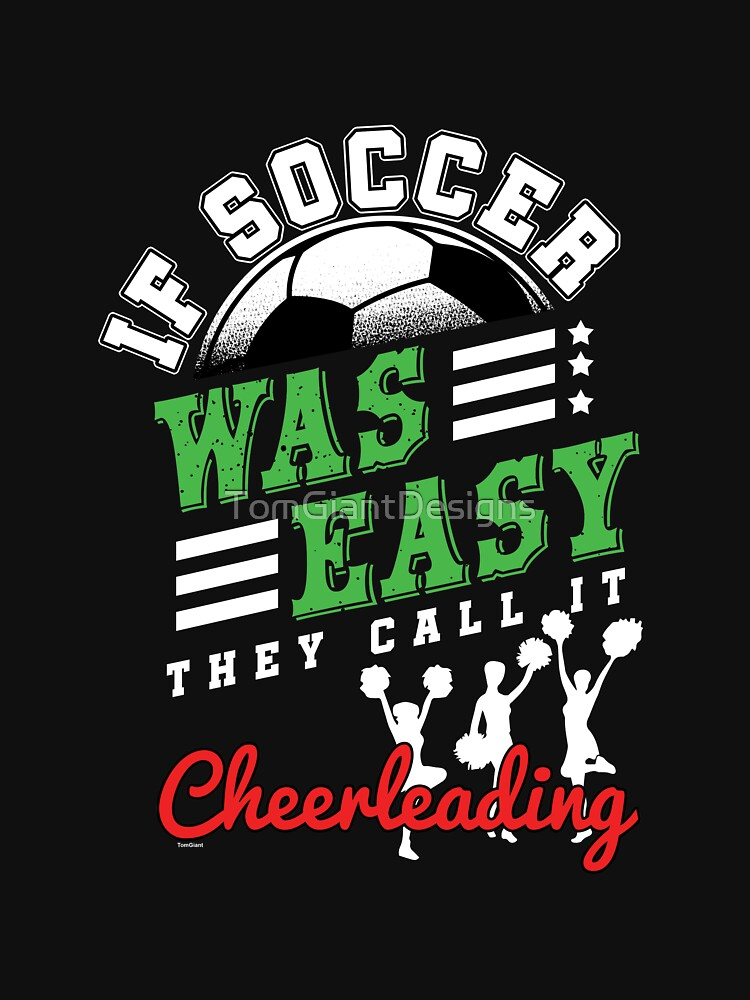 Cheerleading Soccer by TomGiantDesigns