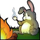 Plot Bunny Camp-Out by nottsnano