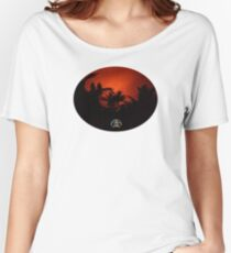 Morning Chat with Apau Hawaii Tours Women's Relaxed Fit T-Shirt