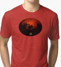 Morning Chat with Apau Hawaii Tours Tri-blend T-Shirt