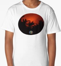 Morning Chat with Apau Hawaii Tours Long T-Shirt