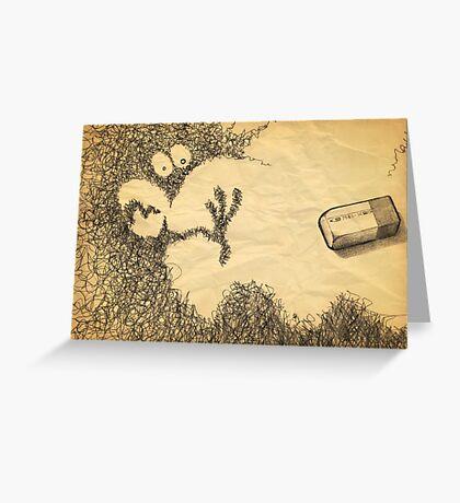doodling Greeting Card