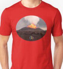 Big Daddy with Apau Hawaii Tours Logo Unisex T-Shirt
