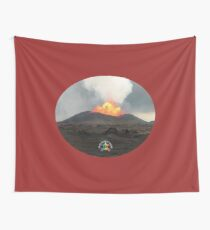 Großer Vati mit Apau Hawaii Tours Logo Wandbehang