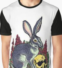 Witch's familiar, Hare in the Foxgloves  Graphic T-Shirt