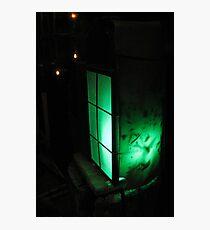 Green Lantern at Waters Edge Photographic Print