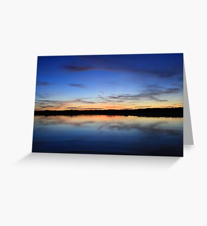 Creek Reflections Greeting Card