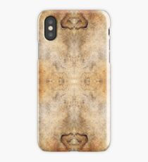 Seamless sandstone pattern iPhone Case