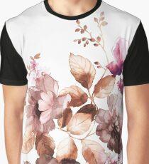 Autumn Floral Graphic T-Shirt