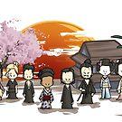 Westworld Shogun Chibi von ArryDesign
