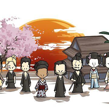Westworld shogun chibi by ArryDesign