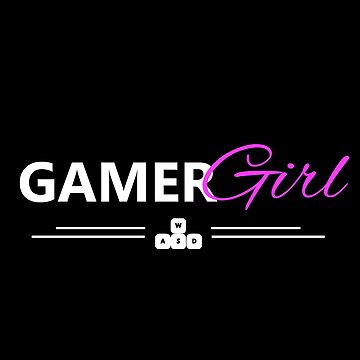 gamer girl white edition by yourgeekside
