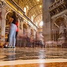 8 seconds in St Peters Basillica, Rome by Cliff Williams