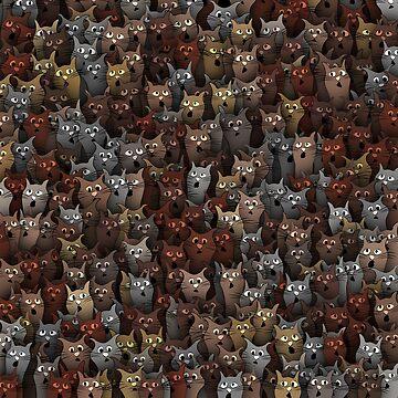 Stupid cats by dima-v