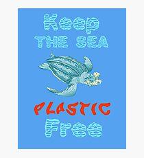 Plastic Pollution Photographic Print