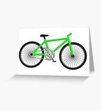 Bike fixie Greeting Card